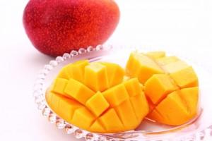 宮崎産のマンゴー